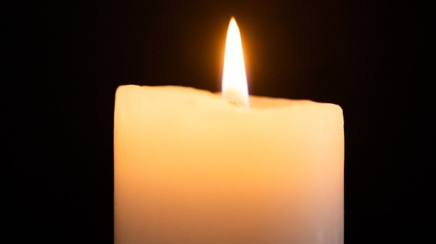 CAPE TOWN, SOUTH AFRICA - JUNE 24: Candle with a f