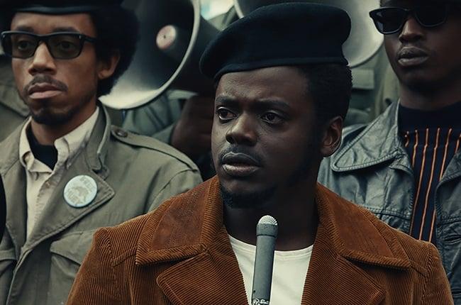 Daniel Kaluuya in Judas and the Black Messiah.