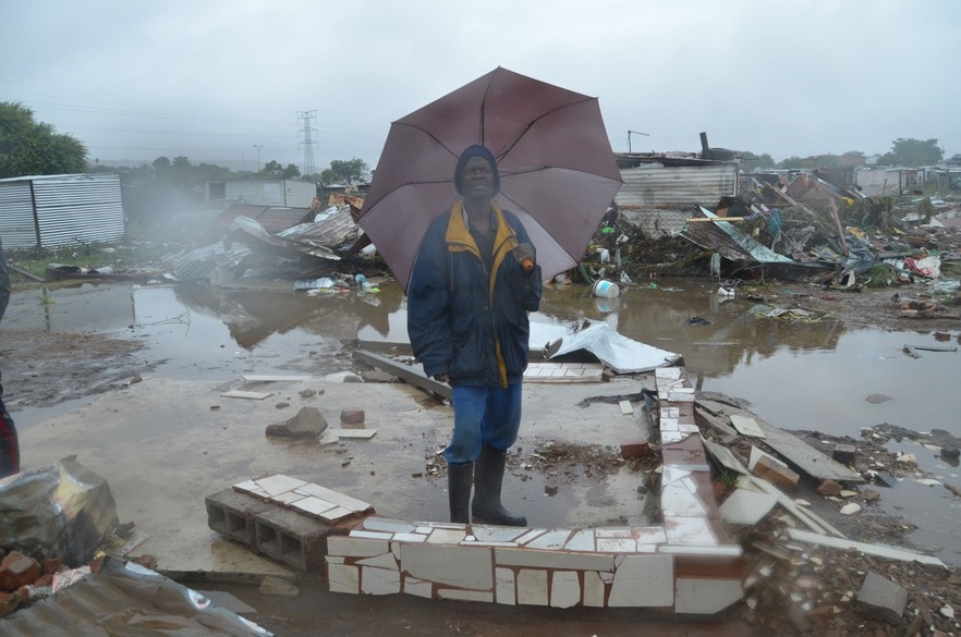 News24.com | PICS: Mamelodi floods: 'I watched as my shack was swept away'