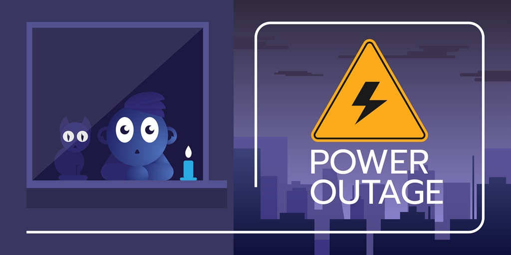 Brace yourself. Loadshedding is set to continue.... Picture: iStock/Gallo Images