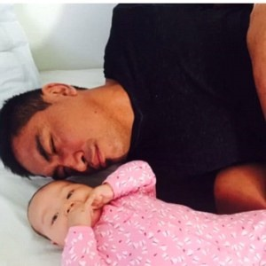 jerry collins with daughter ayla