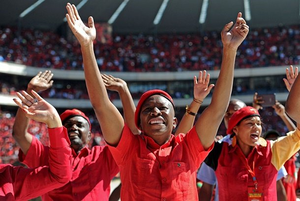 Friday Briefing: The EFF conference or the Julius Malema show? - News24