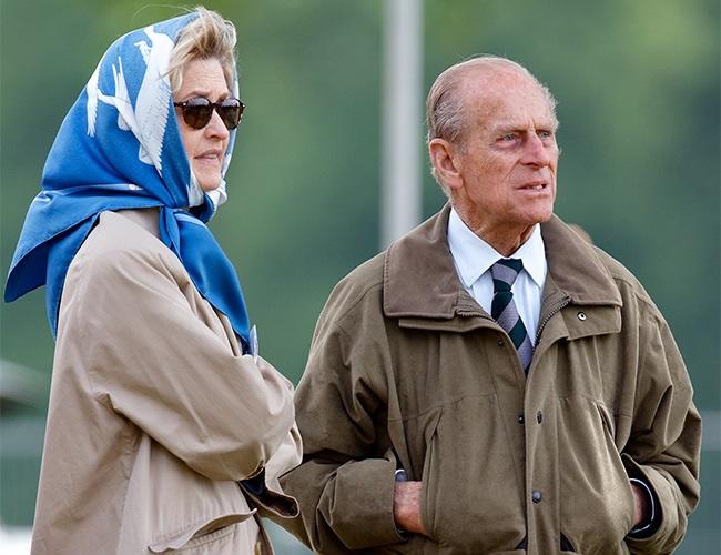 Penelope Knatchbull, Lady Brabourne, Prince Philip