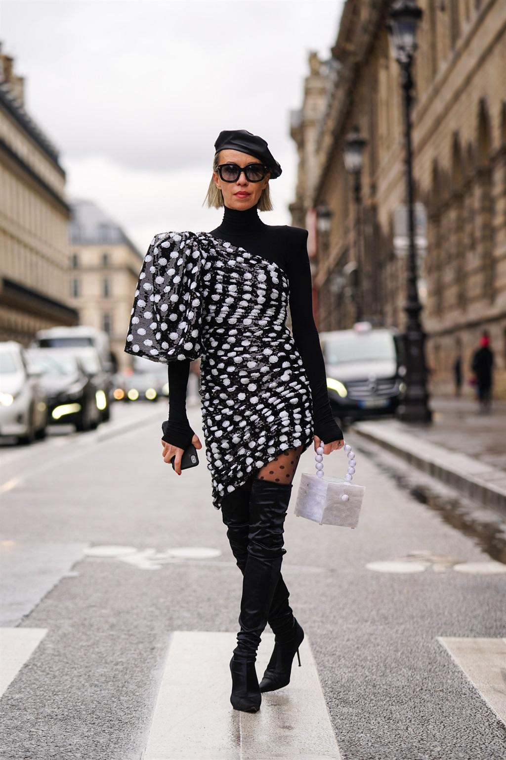 PARIS, FRANCE - JULY 07: Gabriella Berdugo wears a