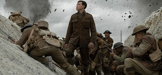 George MacKay in '1917'. (Empire Entertainment)