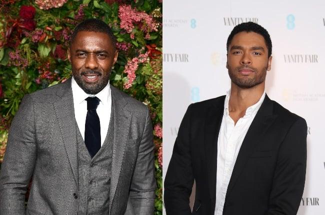 Both Idris Elba (left) and Bridgerton's Regé-Jean