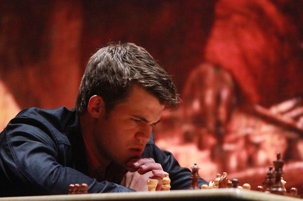 MEXICO CITY, MEXICO - NOVEMBER 25:  Magnus Carlsen