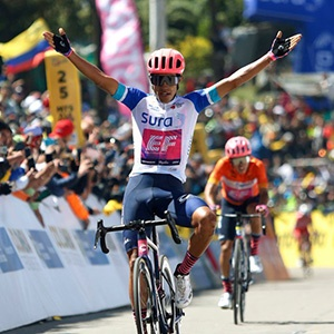 'Beetle' Higuita edges Bernal to win Tour Colombia