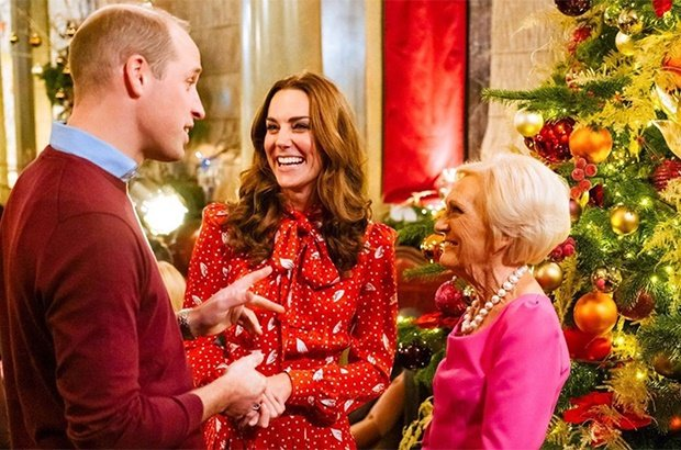 Prince William, Kate Middleton, Mary Berry
