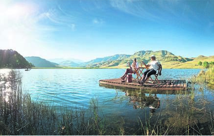 The Drakensburg has amazing camping spots.PHOTO: supplied