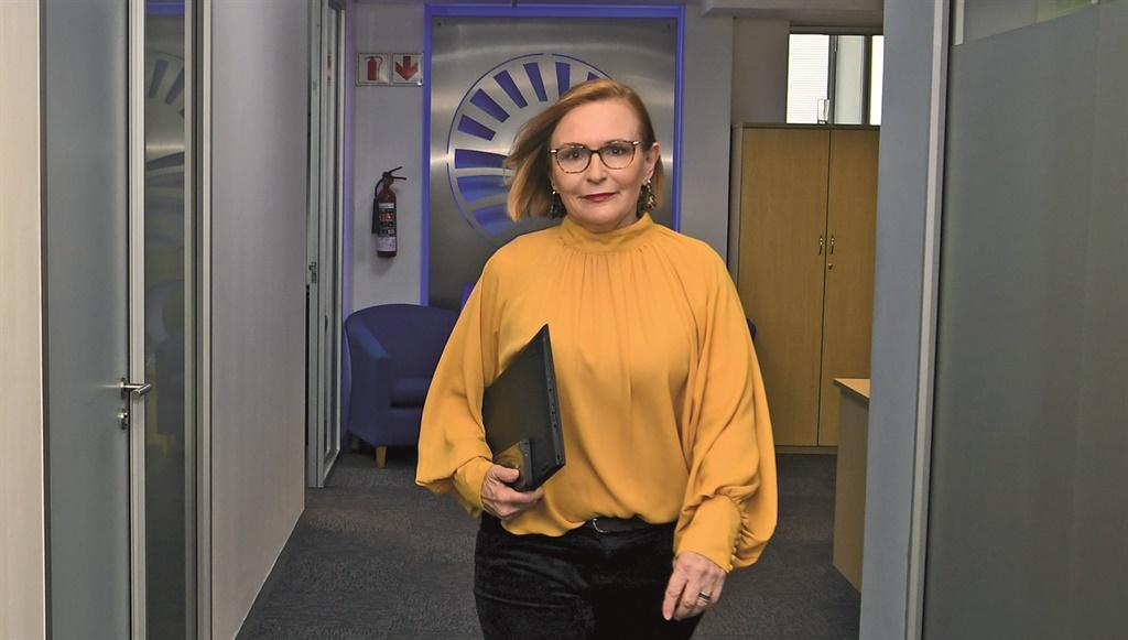 Helen Zille, die federale voorsitter van die Demok