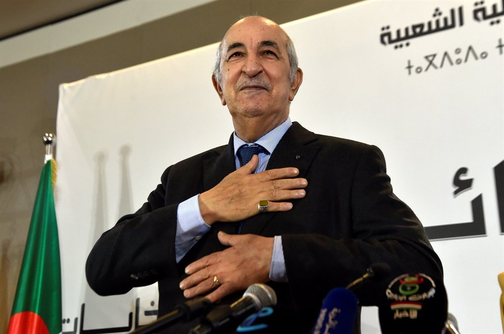 Abdelmadjid Tebboune (Picture: AFP)