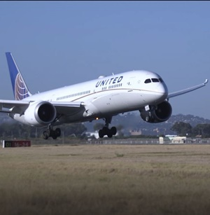 United Airlines in Cape Town