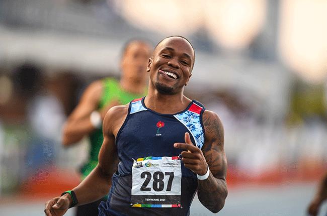 SA sprinter Akani Simbine (Gallo)