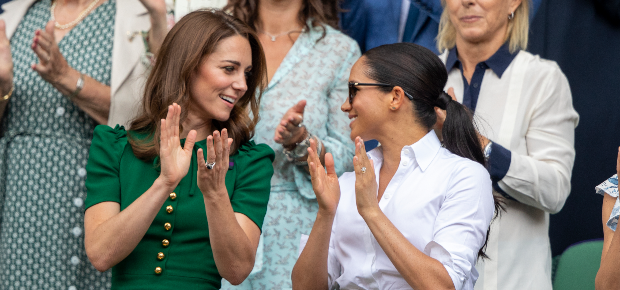 Kate Middleton and Meghan Markle (PHOTO: Getty Ima