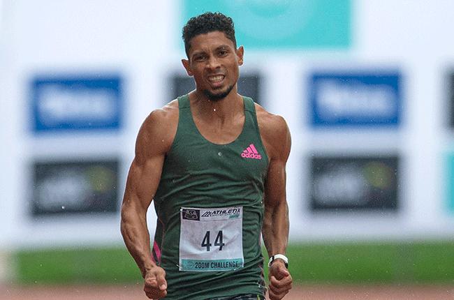 Olympic gold medallist Wayde van Niekerk (AFP)