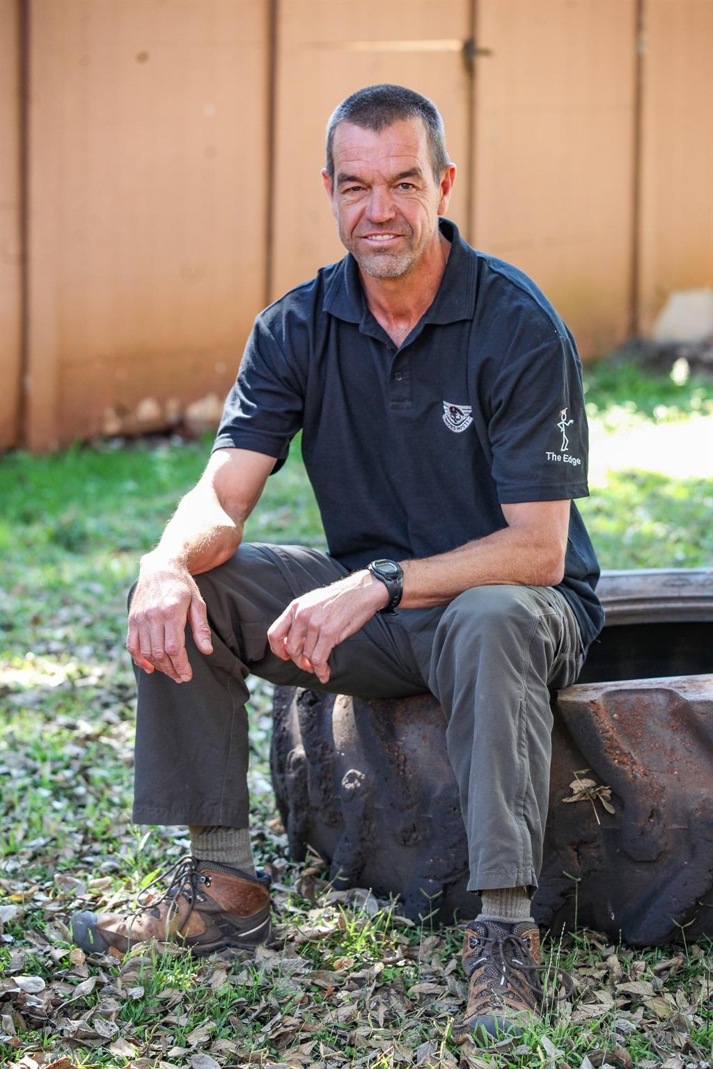 Suid-Afrika se eie Chuck Norris, Leo Prinsloo. Fot