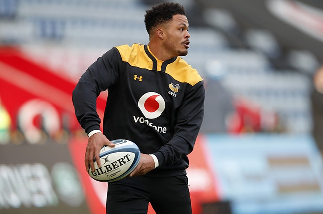 Juan de Jongh in Wasps colours. (Photo by Malcolm Couzens/Getty Images)