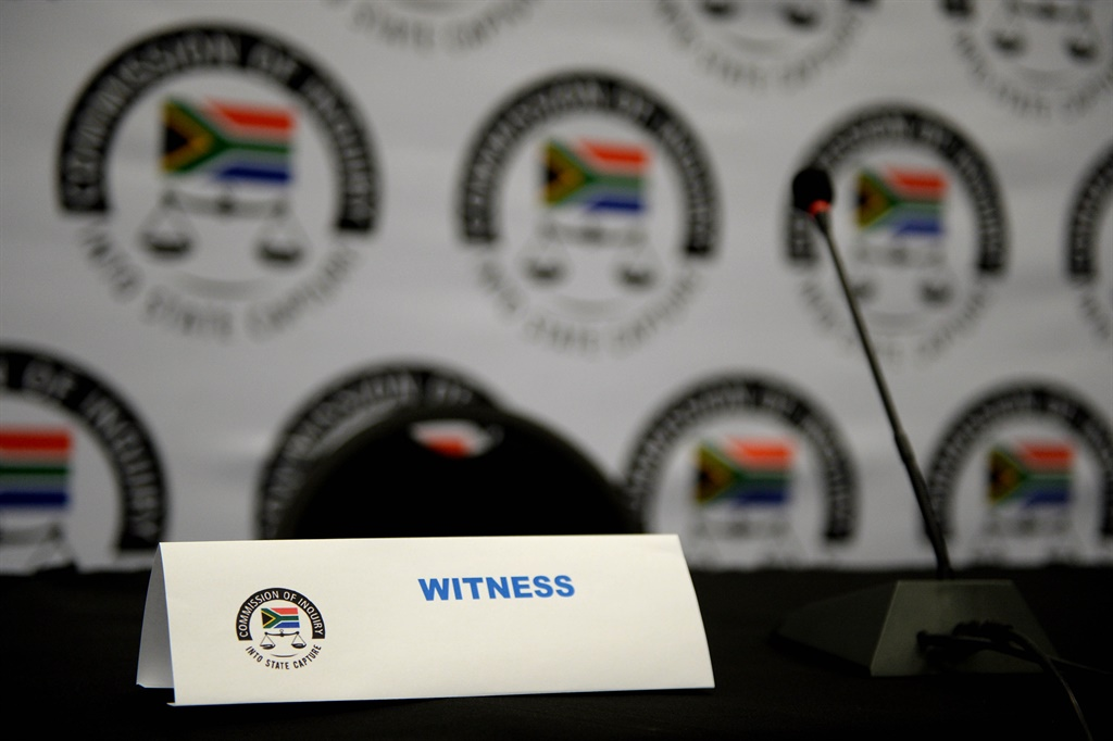 State Capture Inquiry witness stand.