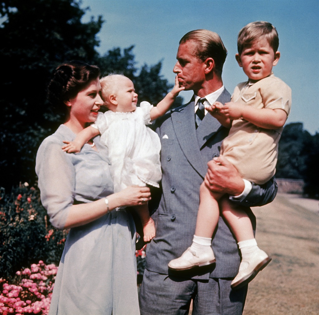 Queen Elizabeth, Prince Philip, Prince Andrew and