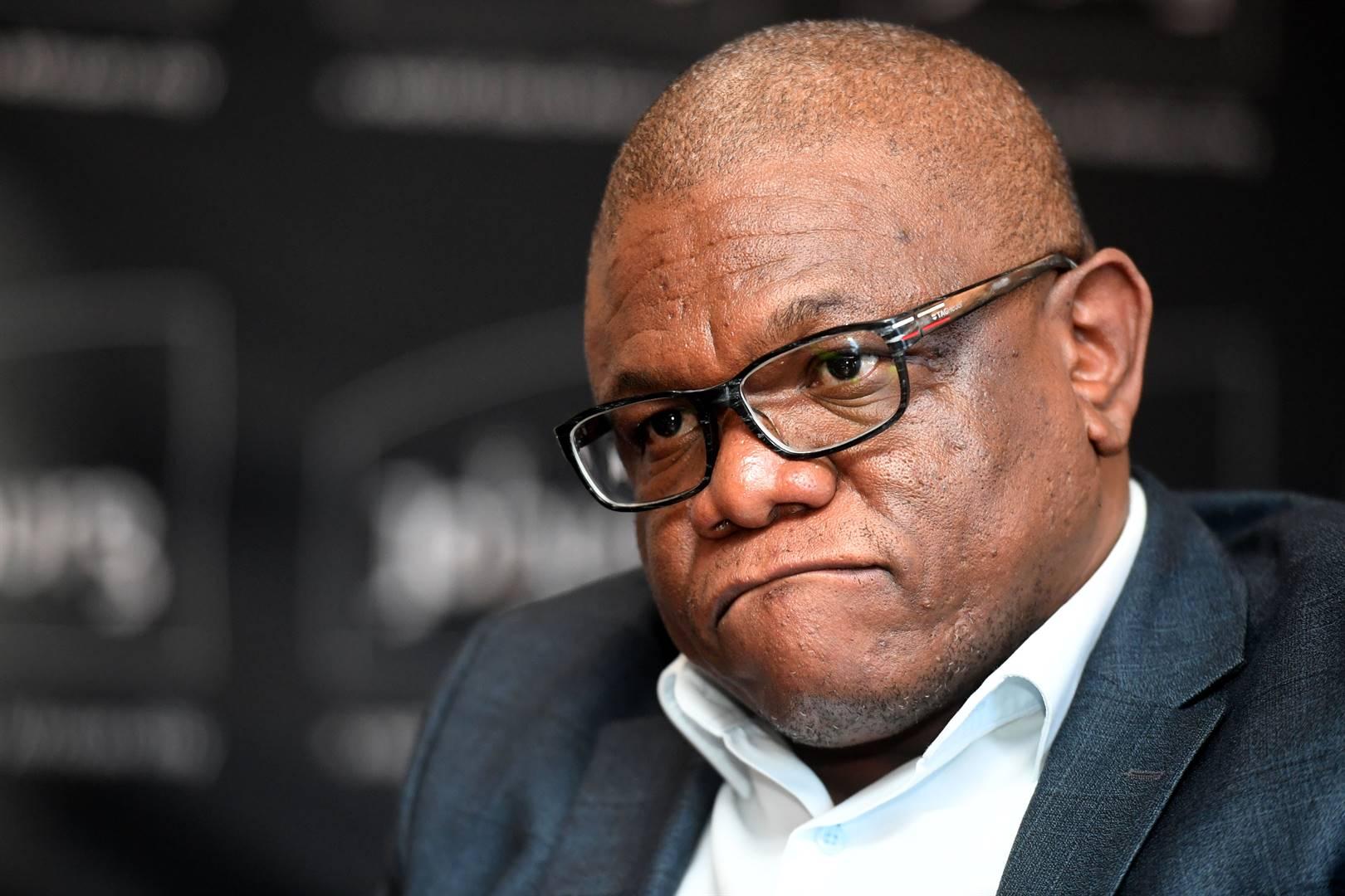 City of Johannesburg mayor Geoff Makhubo.