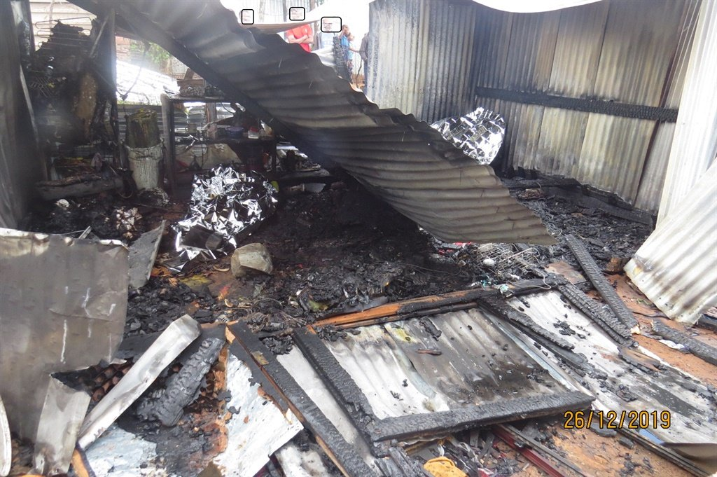 Father, toddler burn to death after he allegedly sets shack on fire - News24