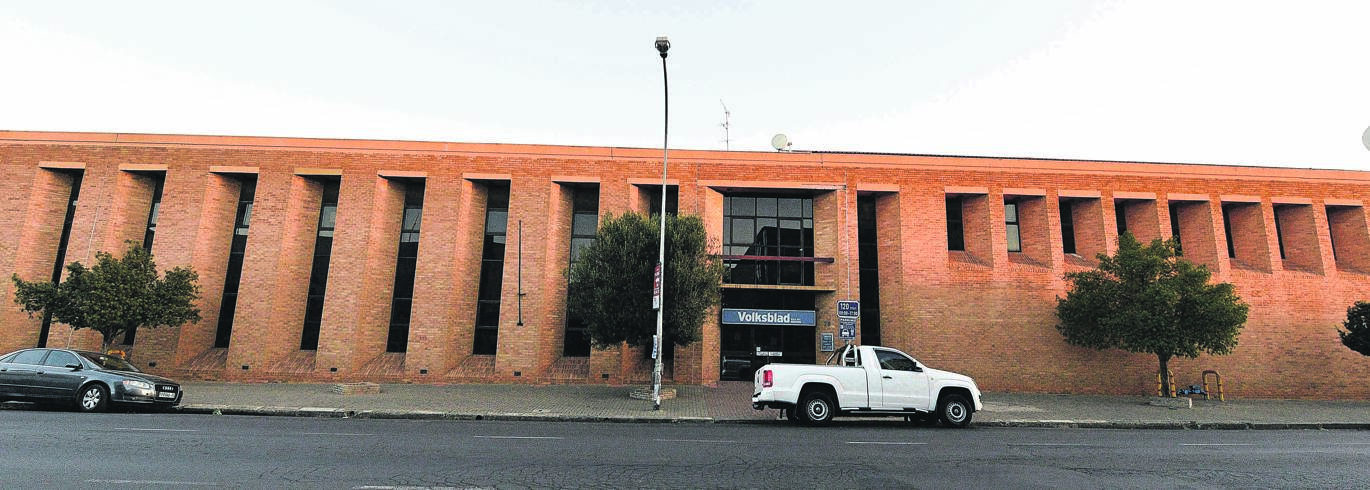 The Volksblad building at Nelson Mandela Drive 79, erected in 1915, got a facelift in 1986. The building, which will soon be sold on auction, now belongs to Novus Print.Photo: Mlungisi Louw