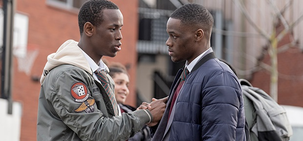 Michael Ward and Stephen Odubola in 'Blue Story.'
