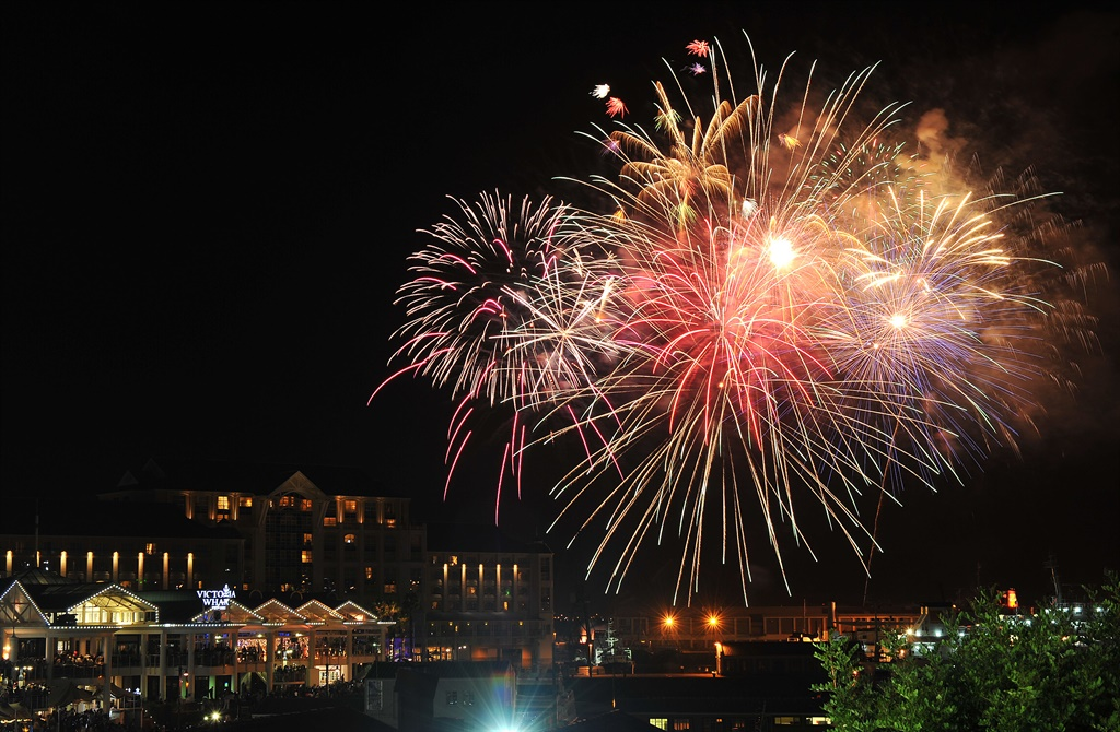 New Years Eve celebrations at the V and A Waterfront, in Cape Town. File Photo.