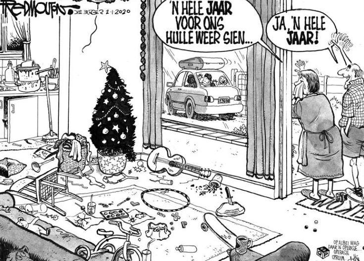 Die Burger en Beeld-spotprent: 1 Januarie 2020