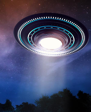UFO. (PHOTO: Getty Images)