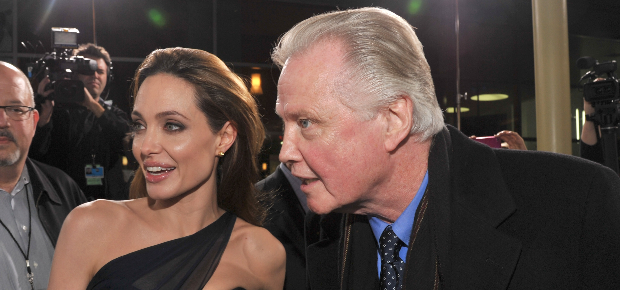 Angelina Jolie and her father Jon Voight  (PHOTO: