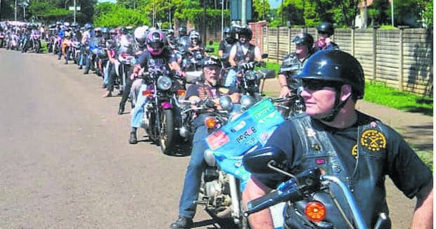 The Wild Bunch MC Sleepy Hollow- Pietermaritzburg held its third SPCA PMB Food Drive.PHOTO: SUPPLIED