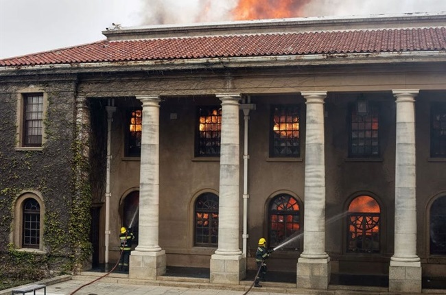 Significant archives are under threat in Cape Town's fire. Here's why they matter so much