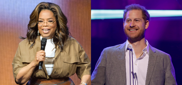 Oprah Winfrey and Prince Harry (Photos: Getty/Gall