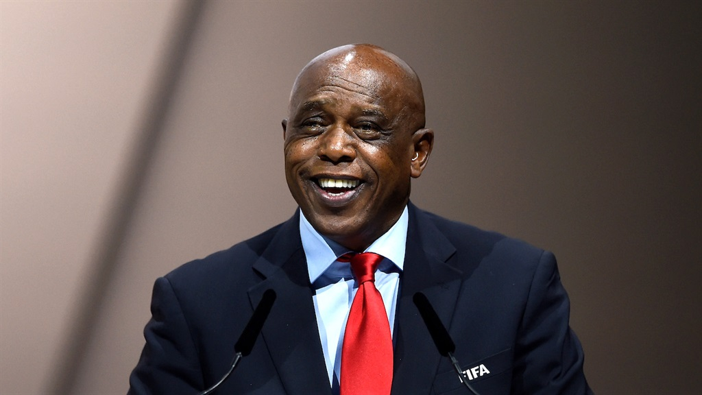 Tokyo Sexwale at a FIFA Congress in Switzerland, i