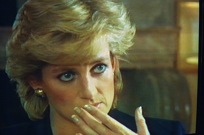Princess Diana appears on Panorama.