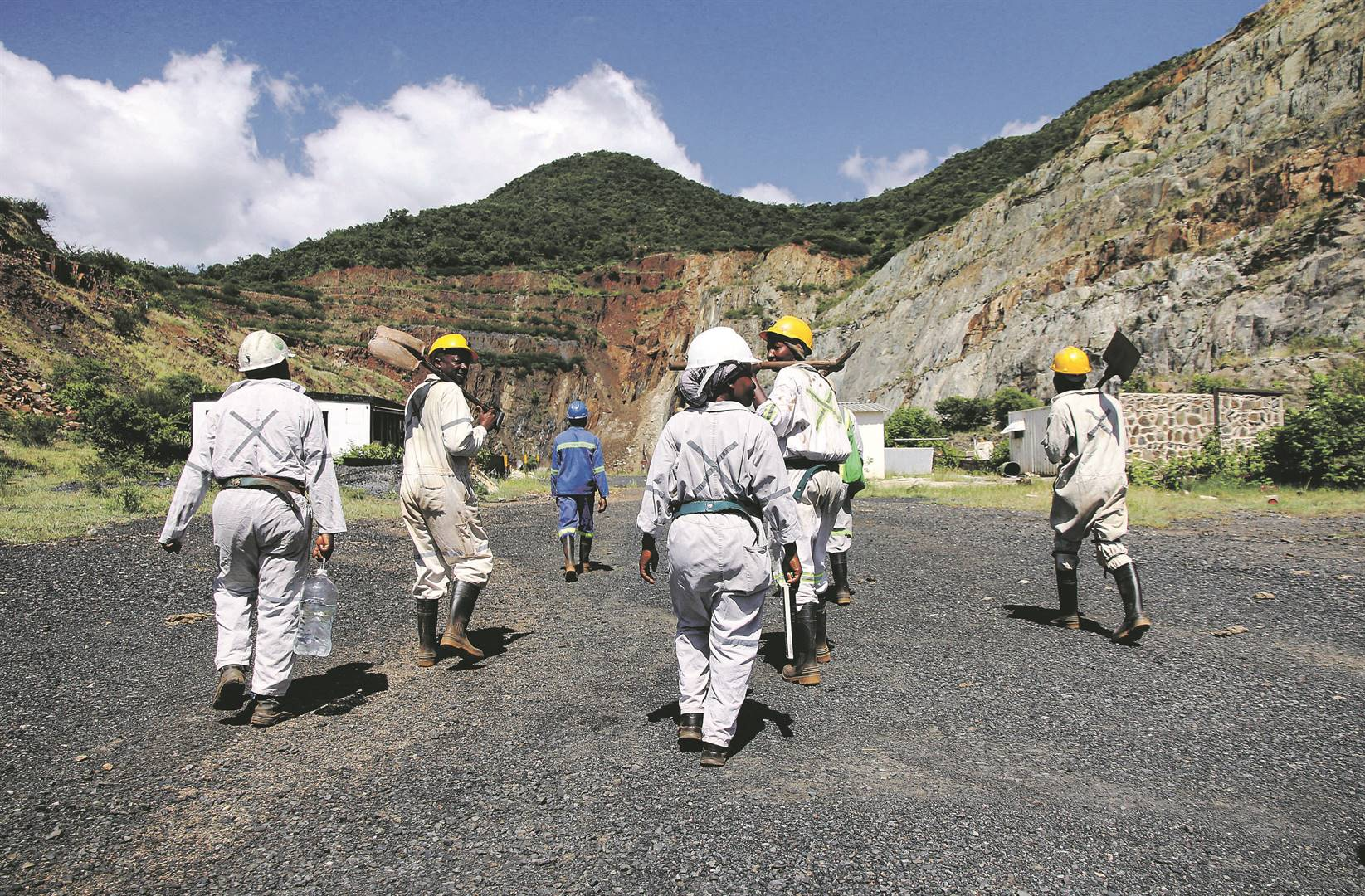 The mines have been under business rescue since they were shut down in 2016 following the collapse of an entrance to Lily mine that buried three workers underground