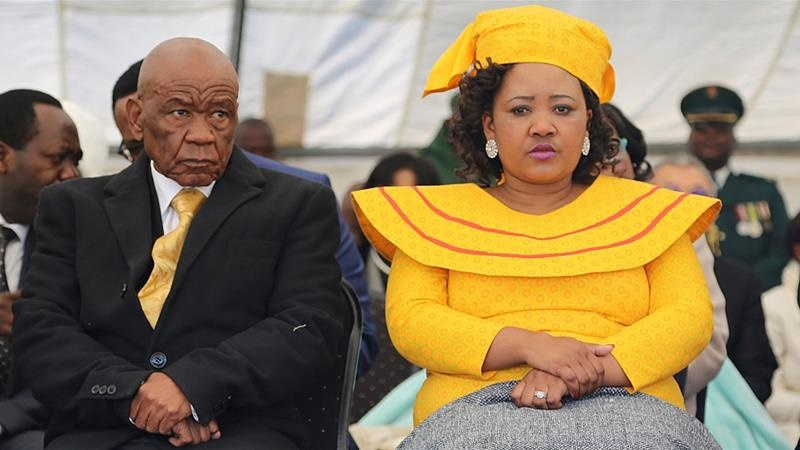 Thomas Thabane married his current wife some two m