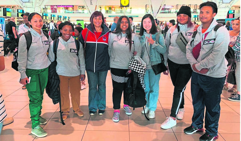 Simon's Town School learners and teachers travelled to China early in December last year to expose the Asian culture enthusiasts to the wonders of China.