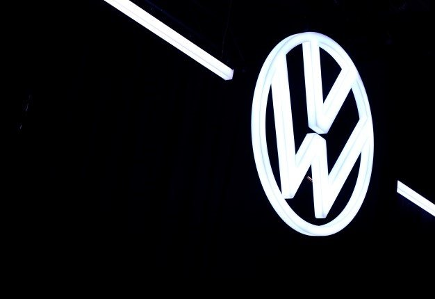 """German prosecutors said on Tuesday, January 14, 2020 they had charged three Volkswagen managers and three employees with fraud as part of their investigation into the massive """"dieselgate"""" emissions cheating scandal. RONNY HARTMANN / AFP"""