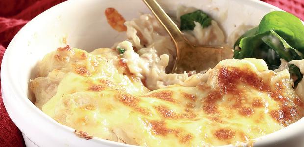 cheesy chicken bake