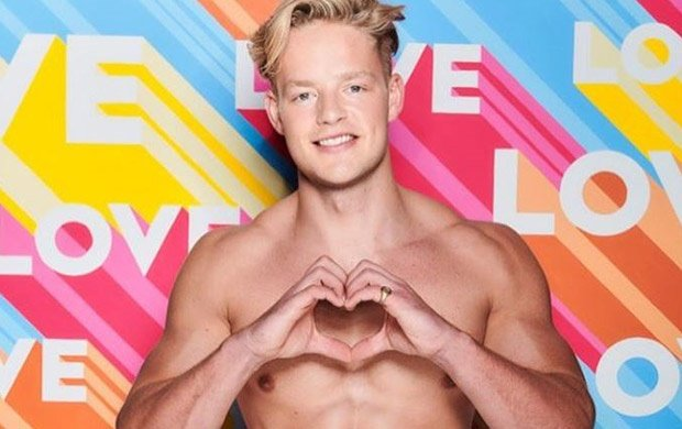 Love Island contestant Ollie Williams.