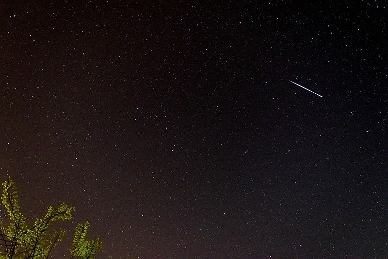 Shooting stars are set to brighten the skies for Earth Day