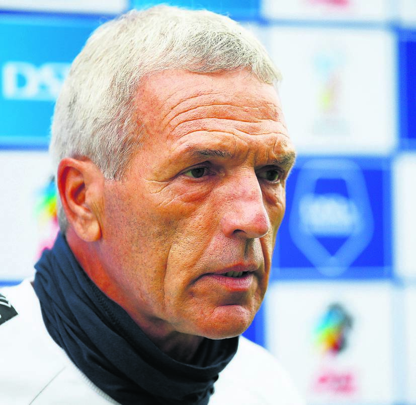 Maritzburg United coach Ernst Middensdorp.PHOTO: Gallo Images