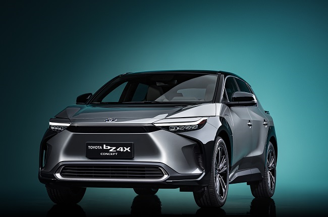 Toyota's new bZ4X SUV concept serves as a hub for efficiency and better overall mobility - News24