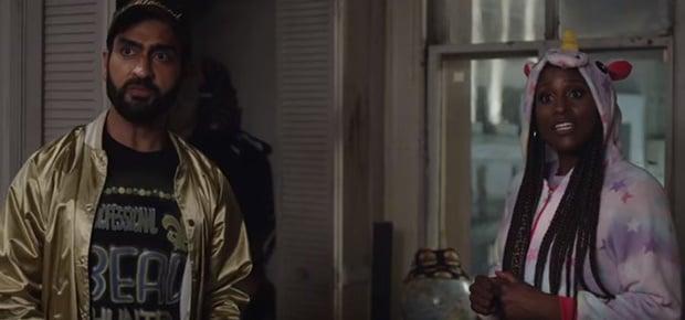 Kumail Nanjiani and Issa Rae in 'Lovebirds'. (Screengrab: YouTube)