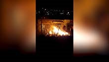 WATCH | Shops allegedly selling muthi set alight in Olievenhoutbosh