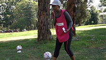 WATCH | Johannesburg soccer mom makes the circle bigger