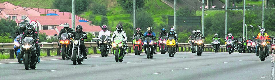 Bikers will be heading to King Edward Park in their numbers this weekend. photo: supplied